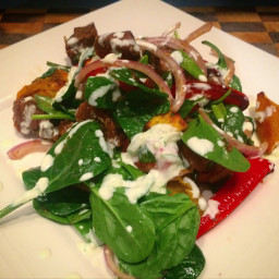 Browns Warm Lamb Salad