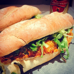 Browns Crispy Chicken Po Boys