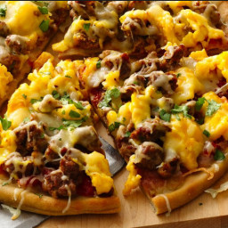 Brunch - Breakfast Pizza