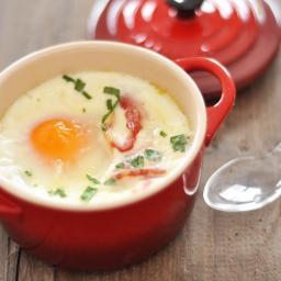 Brunch - Oeufs en Cocotte (Eggs in Cocotte Croc)