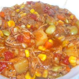 Brunswick Stew Georgia Style ( Chicken & Pork )