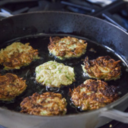 Brussels Sprout Latkes Recipe