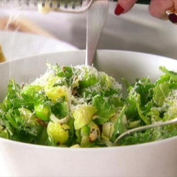 Brussels Sprout-Leaf Salad