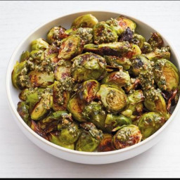 Brussels Sprout with Mint Pesto