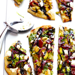 Brussels Sprouts and Bacon Flatbread