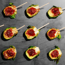 Brussels Sprouts With Bacon Jam