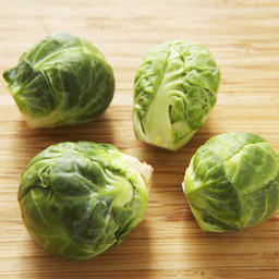 Brussels Sprouts with Maple and Walnut Vinaigrette