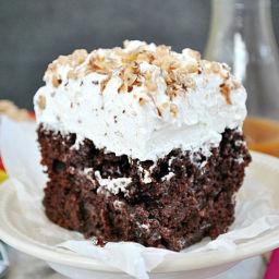 BTS Cake or Poke Cake