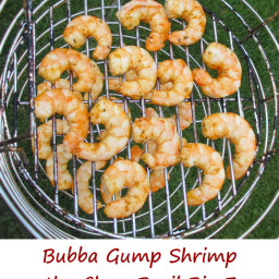 Bubba Gump Shrimp on the Char-Broil Big Easy