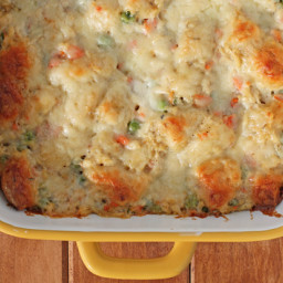 Bubble Up Chicken Pot Pie Casserole