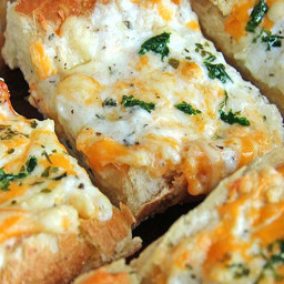 Bubbly Cheese Garlic Bread Recipe