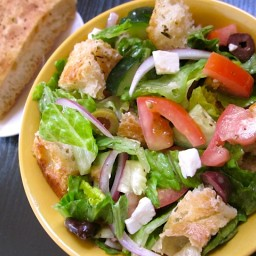 budget panzanella salad