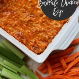 buffalo chicken dip: whole 30 approved