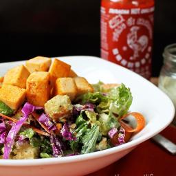 Buffalo Ranch Caesar Salad