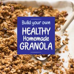 Build Your Own Homemade Granola (Muesli)
