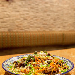 Bukharan Plov With Beef, Carrots and Cumin Seeds
