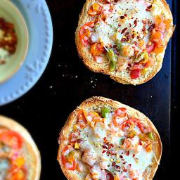 Bun Snack Pizza - Semi Home Made