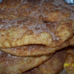Bunelos (Fried Indian Bread)