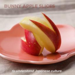 Bunny-Shaped Apple Slices Recipe by Tasty