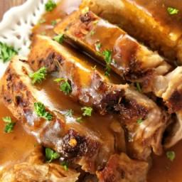 Butter-Braised Slow Cooker Pork Roast