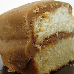 Butter Cake with Caramel Frosting