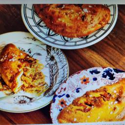 Butter Chicken Calzones