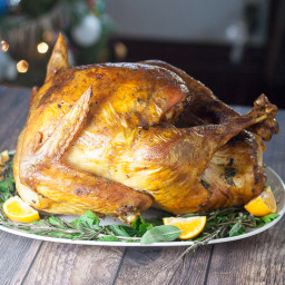 Butter Herb Roasted Turkey