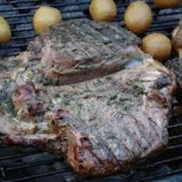 Butterflied Leg of Lamb on the Braai