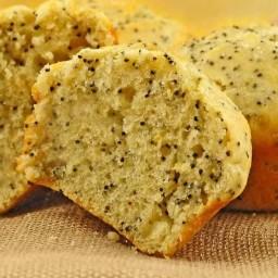Buttermilk Lemon Poppy Seed Muffins