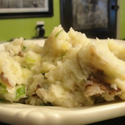 Buttermilk Smashed Potatoes with Scallions (3)