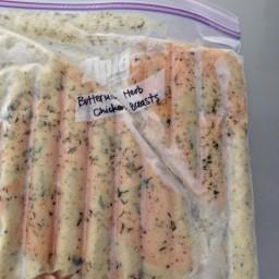 Buttermilk Herb Chicken Breasts