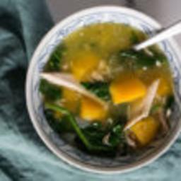 Butternut Breakfast Soup