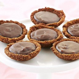 Butternut snap chocolate tartlets