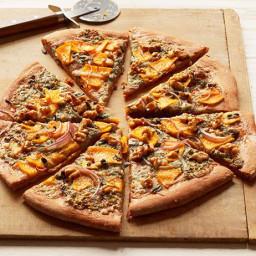 Butternut Squash and Gorgonzola Pizza