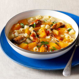 Butternut Squash and Mussel Soup