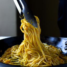 Butternut squash and thyme pasta