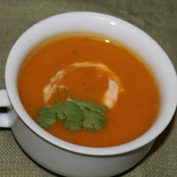Butternut Squash Chipotle Bisque