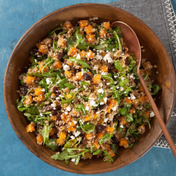 Butternut Squash Quinoa with Dried Cherries