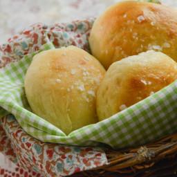 Buttery Baked Potato Rolls