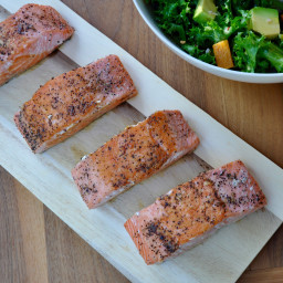 Buttery Brined Salmon Fillets