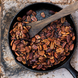 Buttery Cayenne Pecans