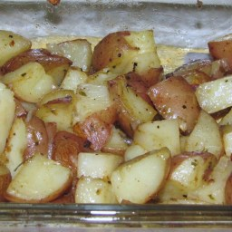 Buttery Herb Roasted New Potatoes