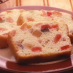 Buttery Light Fruitcake