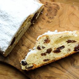 Buttery Marzipan Stollen Recipe