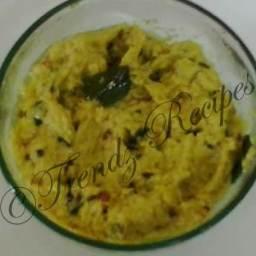 Cabbage Chutney Recipe Andhra Style
