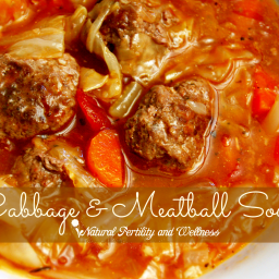 Cabbage Meatball Soup {Recipe}