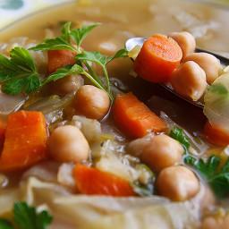 Cabbage Noodle Soup