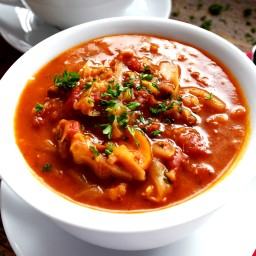Cabbage Roll Soup - Vegetarian Style