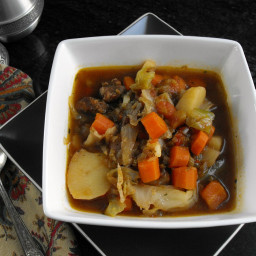 Cabbage Soup: Your Recipe, My Kitchen