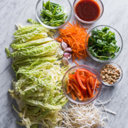 Cabbage Vegetable Pad Thai